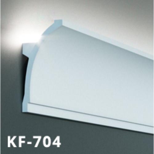 Elite Decor Tesori Poliuretán rejtett világítás díszléc (KF-704) ütésálló