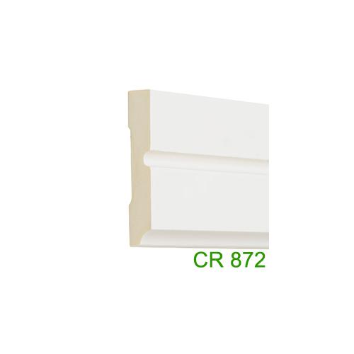 Elite Decor Parkettaszegély léc (CR872) kemény poliuretánból, oldalfali díszlécnek is!