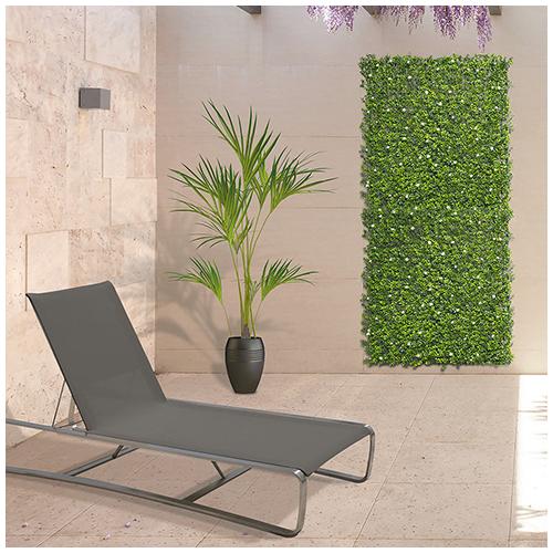 Nortene Vertical Jasmin műanyag zöldfal jázmin virággal (100x100 cm)