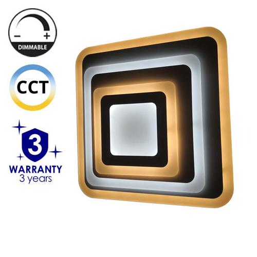Avide Nansy Mennyezeti LED lámpa (92W - 7500 lm) RF távirányítóval