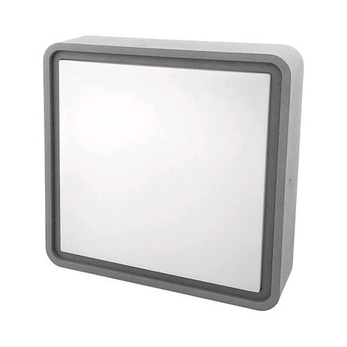 Avide MERKUR-S IP54 mennyezeti LED lámpa, négyzet alakú (12W/4000K) grafit
