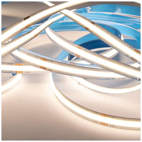 V-TAC 2650 COB LED szalag beltéri 512 LED/m (24 Volt) - természetes fehér