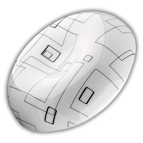 Avide JELLY mennyezeti LED lámpa, kör alakú (18W/1600lm) természetes fehér