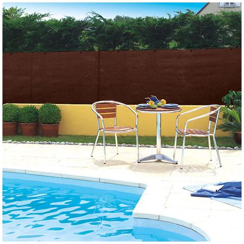 Nortene Szőtt árnyékoló háló 95%-os takarás, TOTALTEX (2x 50 méter) barna