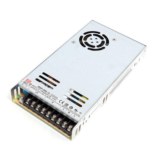 MeanWell LED tápegység 12 Volt - fém házas, ipari (320W/26.6A)