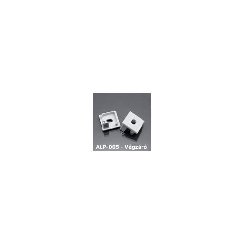 LED Profiles ALP-005 Véglezáró alumínium LED profilhoz, szürke