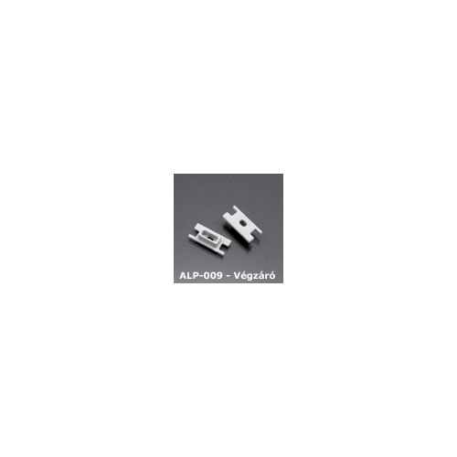 LED Profiles ALP-009 Véglezáró alumínium LED profilhoz