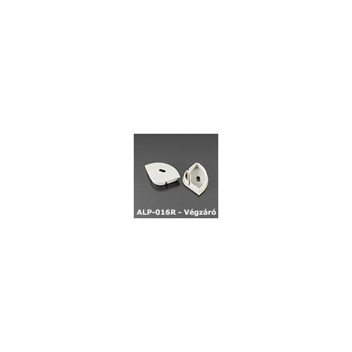LED Profiles ALP-016R Véglezáró alumínium LED profilhoz, szürke