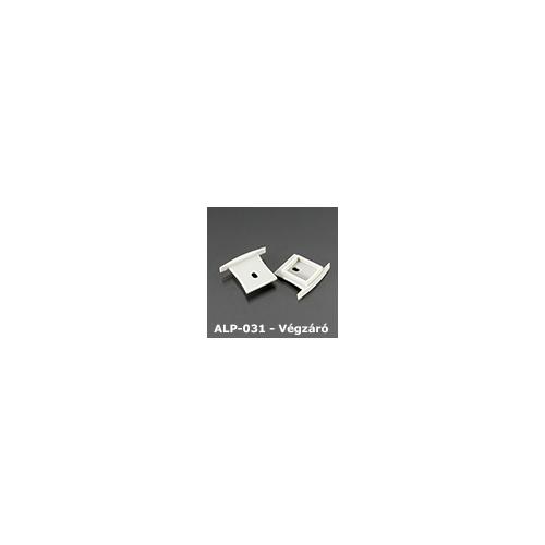 LED Profiles ALP-031 Véglezáró alumínium LED profilhoz, szürke