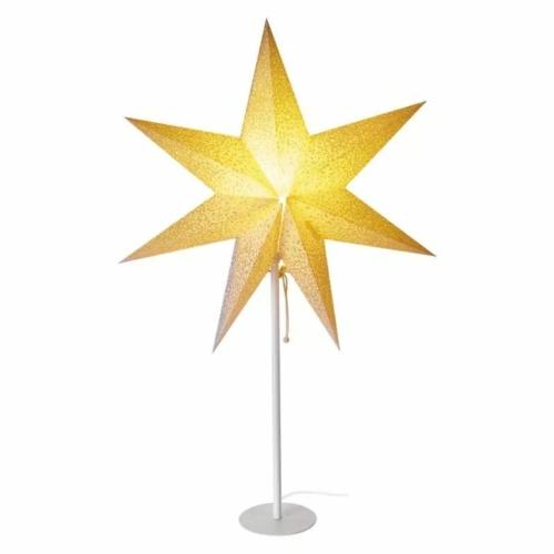 EMOS LED papírcsillag E14, talpas, 45 cm, beltérre
