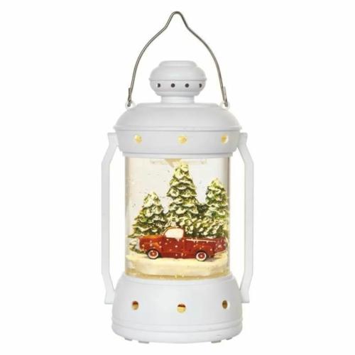 EMOS LED karácsonyi lámpa, 19.5 cm, 3x AA, beltérre, meleg fehér, időzítő