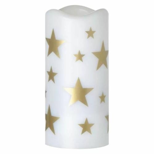 EMOS LED dekoráció projektor csillagok, 3x AAA beltéri, meleg fehér