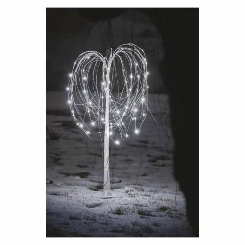 EMOS LED karácsonyfa, 120 cm, kültérre és beltérre, hideg fehér, IP44
