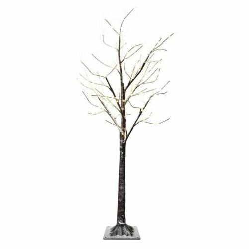 EMOS LED karácsonyfa, 120 cm, meleg fehér, időzítő, IP44