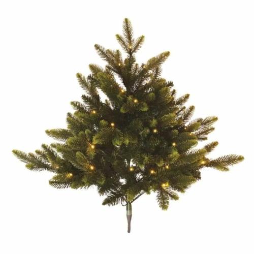 EMOS LED karácsonyfa, 75 cm, 3x AA, beltéri, meleg fehér, időzítő