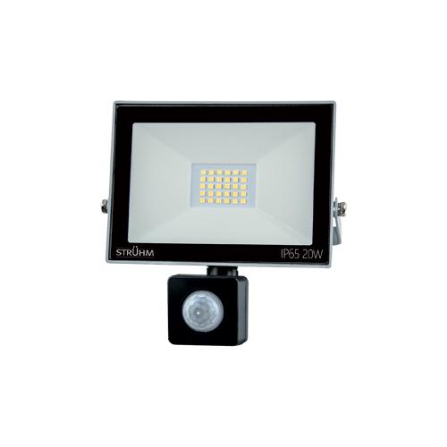 Strühm KROMA LED reflektor mozgásérzékelővel IP65 20W 4500K