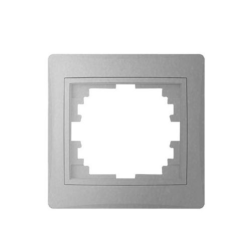 Kanlux DOMO - Egyes keret, vízszintes, ezüst