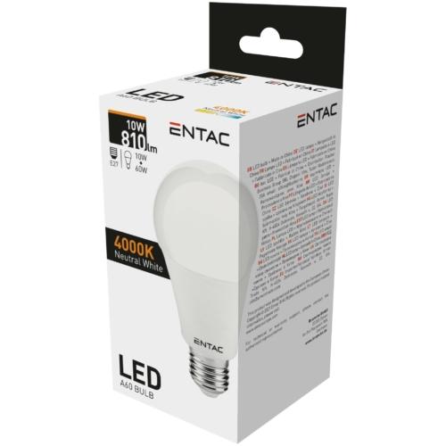 Entac LED izzó E27 10W NW 4000K