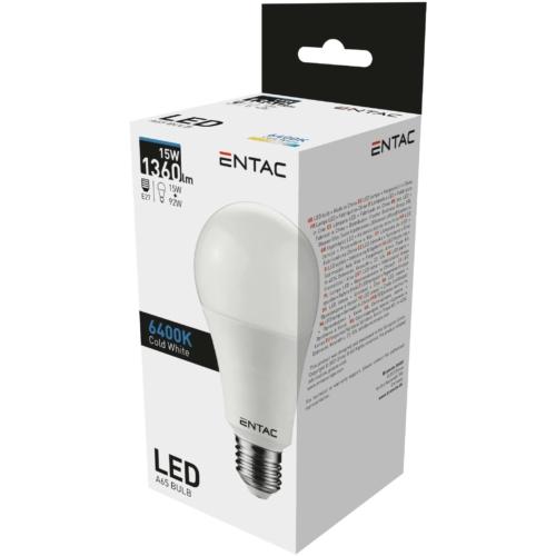 Entac LED izzó E27 15W CW 6400K