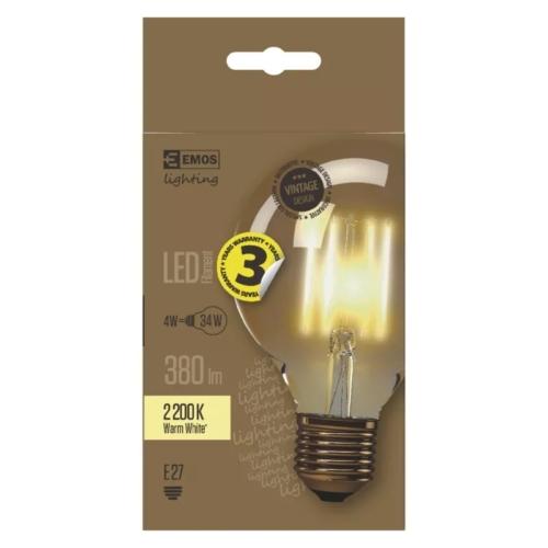 EMOS LED IZZÓ VINTAGE G95 4W (34W) 380LM E27 WW+