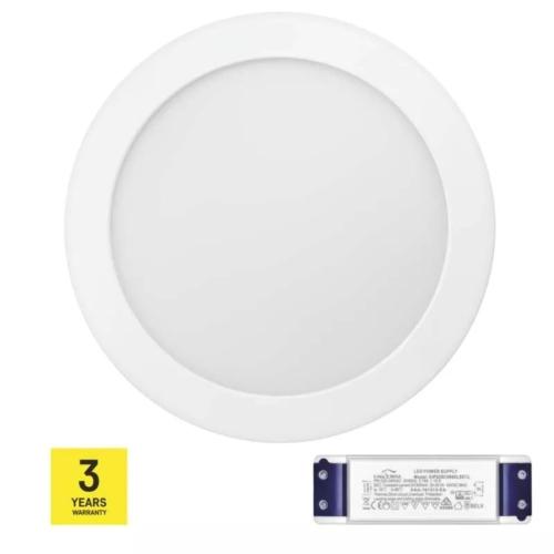 EMOS TRIAC LED PANEL FALON KÍVÜLI 18W WW IP20
