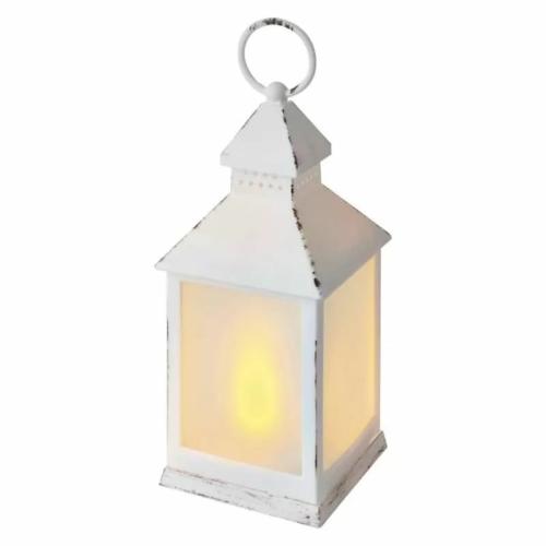 EMOS karácsonyi dekorációs világítás fehér lámpa, 12 LED, IP20, vintage